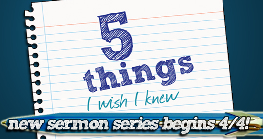 5 things Easter sermon series corrected