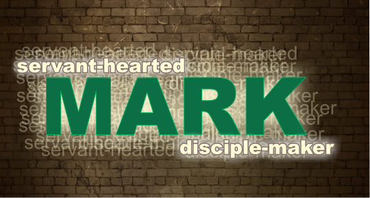 Mark - the words mark