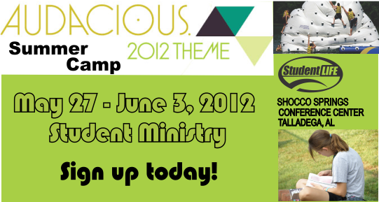 Student Life Camp 2012